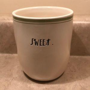 Other - Rae Dunn Magenta sugar bowl